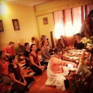 Puja at Kashi House