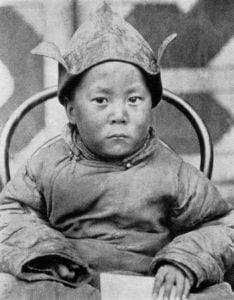 Dalai Lama as boy