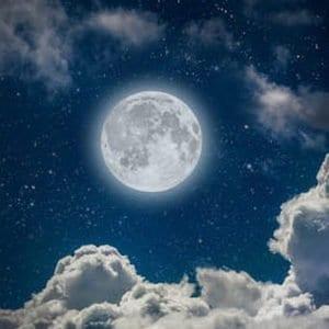 full moon healing