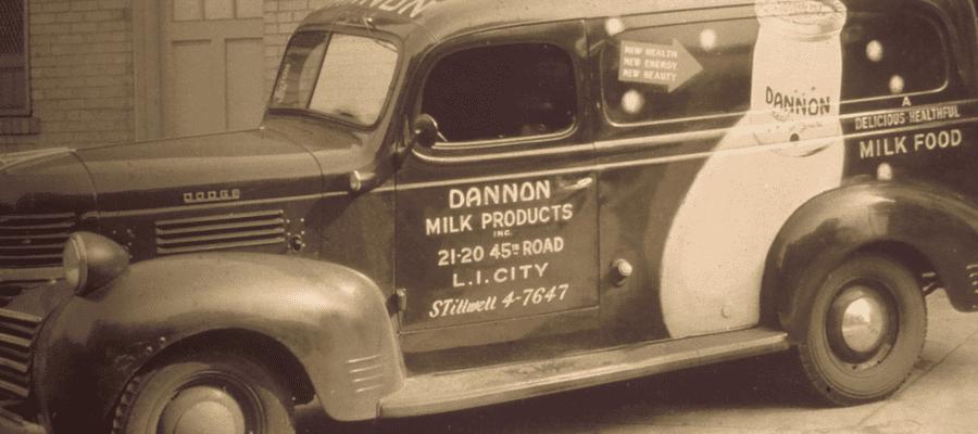Dannon truck