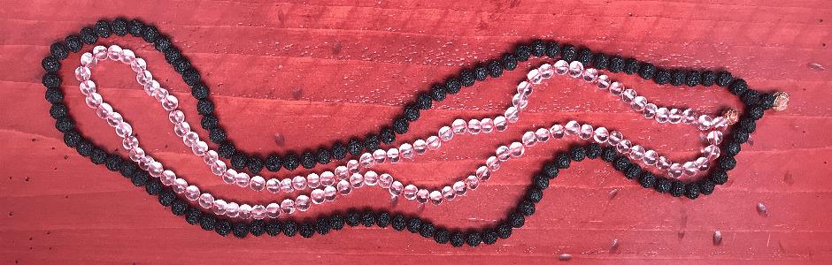 mala with 108 beads