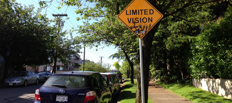 limited vision