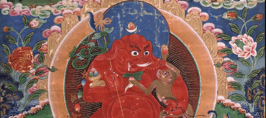 Fierce mama Ganesha