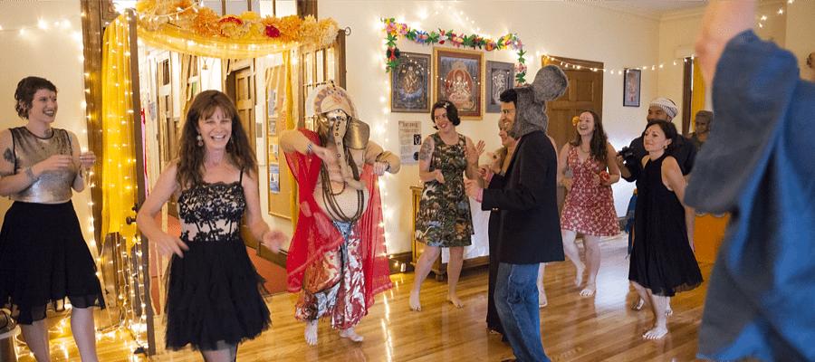 Dancing with Ganesha