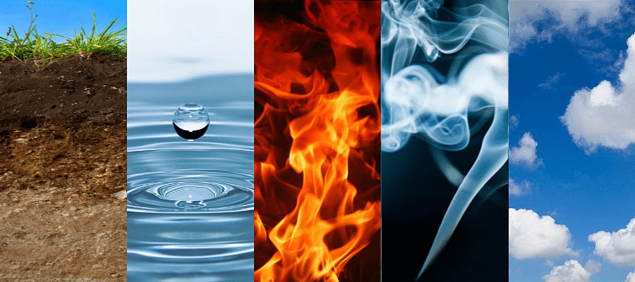 Earth Water Fire Air Space