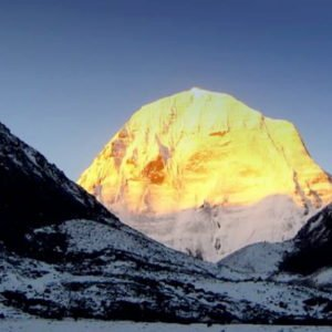 Golden Mt. Kailash