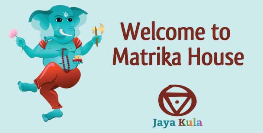 Matrika House sign