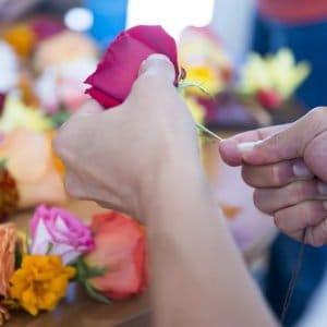 flower mala