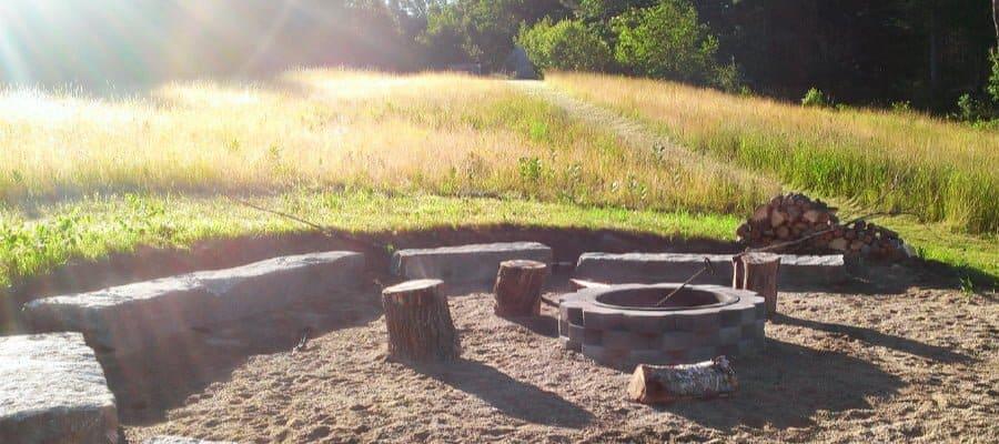 Empty Fire Pit