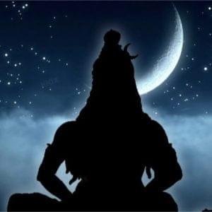 Shiva and the Moon